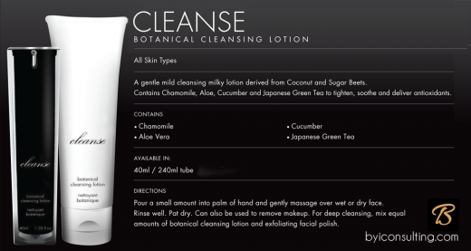 Cleanse - Botanical Cleansing Lotion