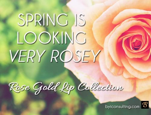 SPRING IS LOOKING SO VERY ROSEY
